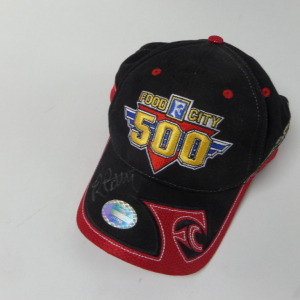 RICHARD PETTY AUTOGRAPHED FOOD CITY 50 HAT BRISTOL 4/3/05 # rp2