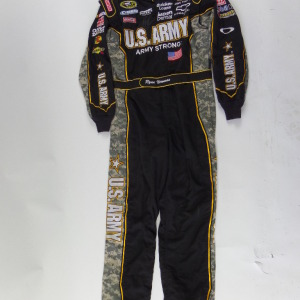 RYAN NEWMAN RACE USED AUTOGRAPHED DRIVER SUIT RN6