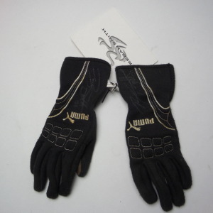 REGAN SMITH RACE USED AUTOGRAPHED DRIVING GLOVES #rsm1