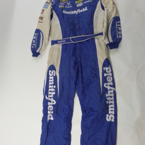 ARIC ALMIROLA SMITHFIELD 1PC NASCAR RACE USED CREW FIRESUIT U26 - Click Image to Close