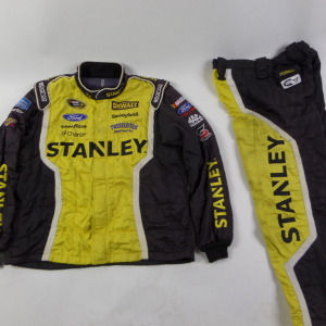 MARCOS AMBROSE STANLEY SPARCO CREW FIRE SUIT 2 PC U11