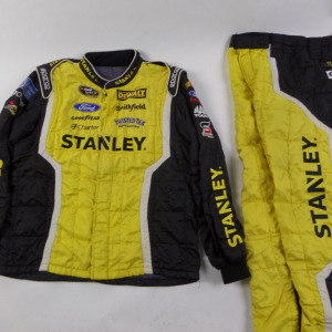 MARCOS AMBROSE STANLEY SPARCO CREW FIRE SUIT 2 PC U12