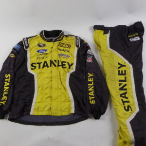 MARCOS AMBROSE STANLEY SPARCO CREW FIRE SUIT 2 PC U4