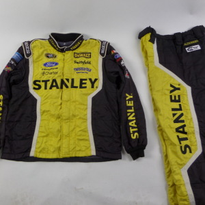 MARCOS AMBROSE STANLEY SPARCO CREW FIRE SUIT 2 PC. U7