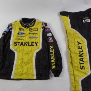 MARCOS AMBROSE STANLEY SPARCO CREW FIRE SUIT 2 PC U9. - Click Image to Close