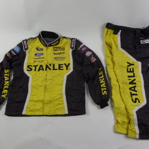 MARCOS AMBROSE STANLEY SPARCO CREW FIRE SUIT 2 PC U1.