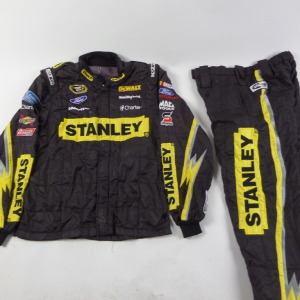 MARCOS AMBROSE STANLEY SPARCO CREW FIRE SUIT 2 PC U13.