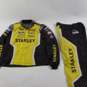 MARCOS AMBROSE STANLEY SPARCO CREW FIRE SUIT 2 PC U14.