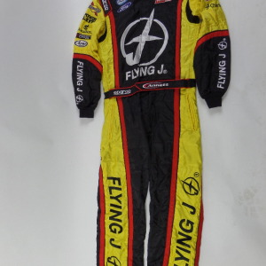MICHAEL ANNETT SPARCO FLYING J DRIVING SUIT U19